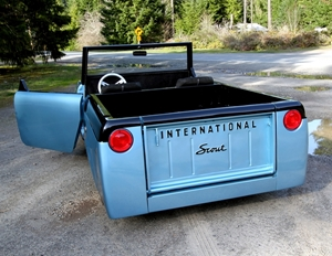 Scout 80/800 Tailgate lettering
