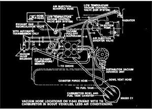 picture of vacuum hose diagram