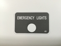 Picture of Emergency Lights decal